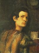 Giorgione Portrait of a Young Man dh oil painting artist