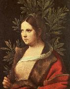 Giorgione Laura oil painting artist