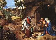 Giorgione The Adoration of the Shepherds oil painting artist