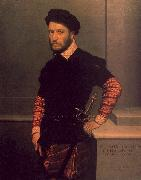 Giovanni Battista Moroni Portrait of the Duke of Albuquerque oil painting artist