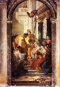 Giovanni Battista Tiepolo The Last Communion of St.Lucy oil painting artist