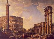 Giovanni Paolo Pannini Roman Capriccio oil painting picture wholesale