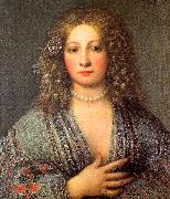 Girolamo Forabosco Portrait of a Courtesan oil painting artist