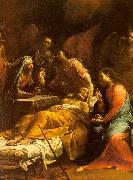Giuseppe Maria Crespi The Death of St.Joseph oil painting artist