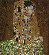 Gustav Klimt The Kiss oil painting