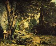 Gustave Courbet The Shaded Stream oil painting picture wholesale