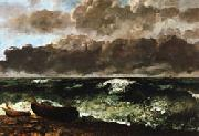 Gustave Courbet The Stormy Sea(or The Wave oil painting picture wholesale