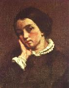 Gustave Courbet Juliette Courbet oil painting artist