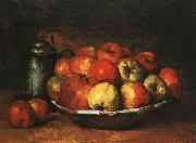 Gustave Courbet Still Life with Apples and Pomegranates oil