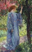 Guy Rose The Blue Kimono oil painting picture wholesale