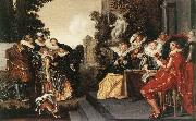 HALS, Dirck Merry Party in a Tavern fdg oil painting picture wholesale
