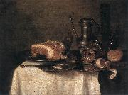 HEDA, Willem Claesz. Still-life wty oil painting picture wholesale