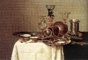 HEDA, Willem Claesz. Still-life  dy67 oil painting picture wholesale