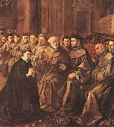 HERRERA, Francisco de, the Elder St Bonaventure Joins the Franciscan Order g oil painting picture wholesale