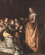 HERRERA, Francisco de, the Elder St Catherine Appearing to the Prisoners sf oil painting picture wholesale