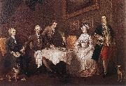 HOGARTH, William The Strode Family w oil painting picture wholesale