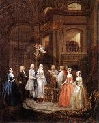 HOGARTH, William The Marriage of Stephen Beckingham and Mary Cox f oil painting picture wholesale
