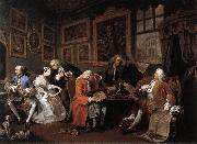 HOGARTH, William Marriage a la Mode 1 oil painting picture wholesale