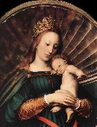 HOLBEIN, Hans the Younger Darmstadt Madonna (detail) sg oil painting picture wholesale