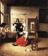 HOOCH, Pieter de Young Woman Drinking sf oil painting picture wholesale