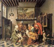 HOREMANS, Jan Jozef II The Marriage Contract sfg oil painting artist