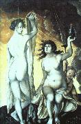 Hans Baldung Grien Sacred and Profane Love oil painting reproduction
