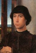 Hans Memling Portrait of a Young Man    kk oil painting picture wholesale
