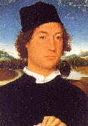 Hans Memling Portrait of an Unknown Man oil painting picture wholesale