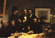 Henri Fantin-Latour Around the Table oil painting picture wholesale