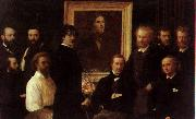 Henri Fantin-Latour Homage to Delacroix oil painting picture wholesale
