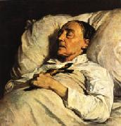 Henri Regnault Mme. Mazois ( The Artist s Great-Aunt on Her Deathbed ) oil painting picture wholesale