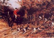 Heywood Hardy Calling the Hounds Out of Cover oil painting picture wholesale