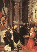 ISENBRANT, Adriaen Mass of St Gregory sf oil painting artist