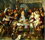 JORDAENS, Jacob The King Drinks sf oil painting picture wholesale