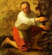 Jacob Gerritsz Cuyp The Grape Grower oil painting artist