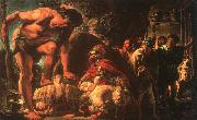 Jacob Jordaens Odysseus oil painting artist