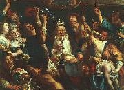 Jacob Jordaens The King Drinks oil painting artist