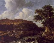 Jacob van Ruisdael The Great Forest oil painting artist
