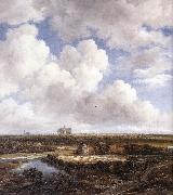 Jacob van Ruisdael View of Haarlem with Bleaching oil painting picture wholesale