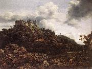 Jacob van Ruisdael Bentheim Castle oil painting picture wholesale