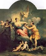 Jacopo Amigoni Juno Receives the Head of Argus oil painting picture wholesale