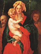 Jacopo Pontormo Madonna Child with St.Joseph and St.John the Baptist oil painting picture wholesale
