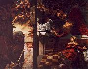 Jacopo Robusti Tintoretto The Annunciation oil painting picture wholesale
