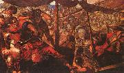 Jacopo Robusti Tintoretto Battle oil painting picture wholesale