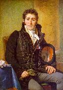 Jacques-Louis  David Portrait of the Count de Turenne oil painting picture wholesale