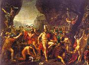 Jacques-Louis  David Leonidas at Thermopylae oil painting picture wholesale