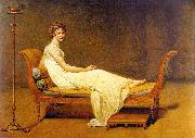 Jacques-Louis  David Portrait of Madame Recamier oil painting picture wholesale