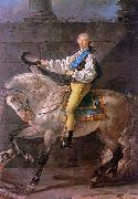 Jacques-Louis David Count Potocki oil painting artist