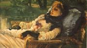 James Tissot The Dreamer(Summer Evening) oil painting picture wholesale
