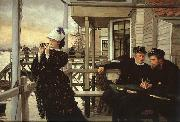 James Tissot The Captain's Daughter oil painting picture wholesale